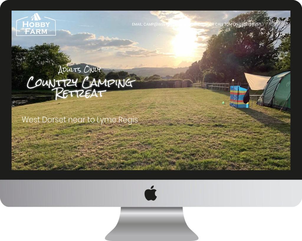 Hobby Farm Camping